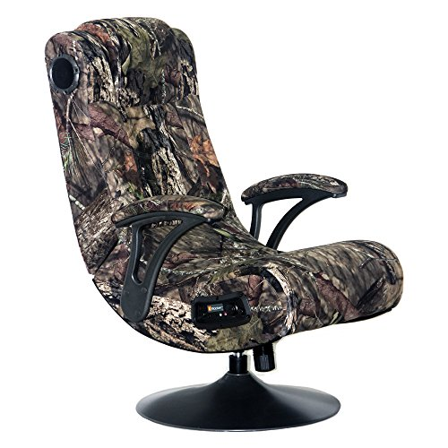 X Rocker Mossy Oak 5165201 2.1 Wireless Break Up Country Pedestal Chair, Mossy Oak Camo