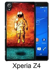 Brand New Deja Entendu Black Sony Xperia Z4 Screen Phone Case Genuine and Luxury Design