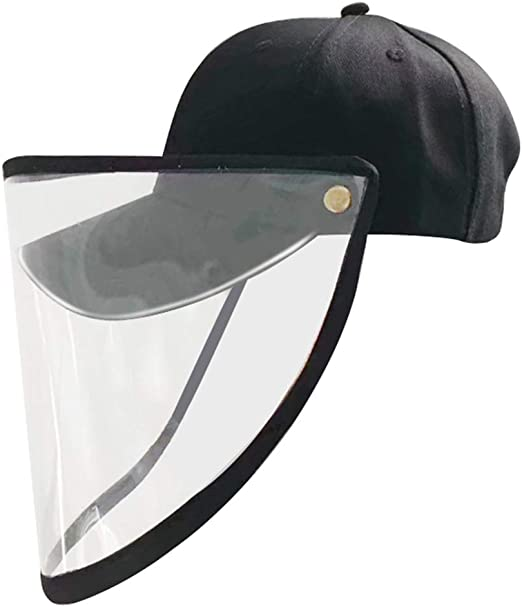 Galapara undefined Sombrero antigotas Dise/ño Desmontable Sombrero para el Sol Mascarilla Protector Exterior Stop Saliva Sunbonnet