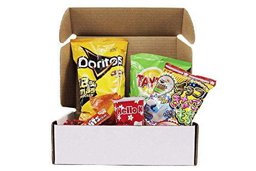 International Box (Snack Box from around the world - Care Package (5 Count))