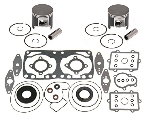 2 SPI Piston Kits & Full Gasket Set 2007-2009 Arctic Cat 800 Crossfire F8 M8 CF8 (Full Set Spi)
