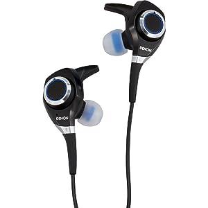 Denon AH-C300 Urban RaverTM In-Ear Headphones, Black