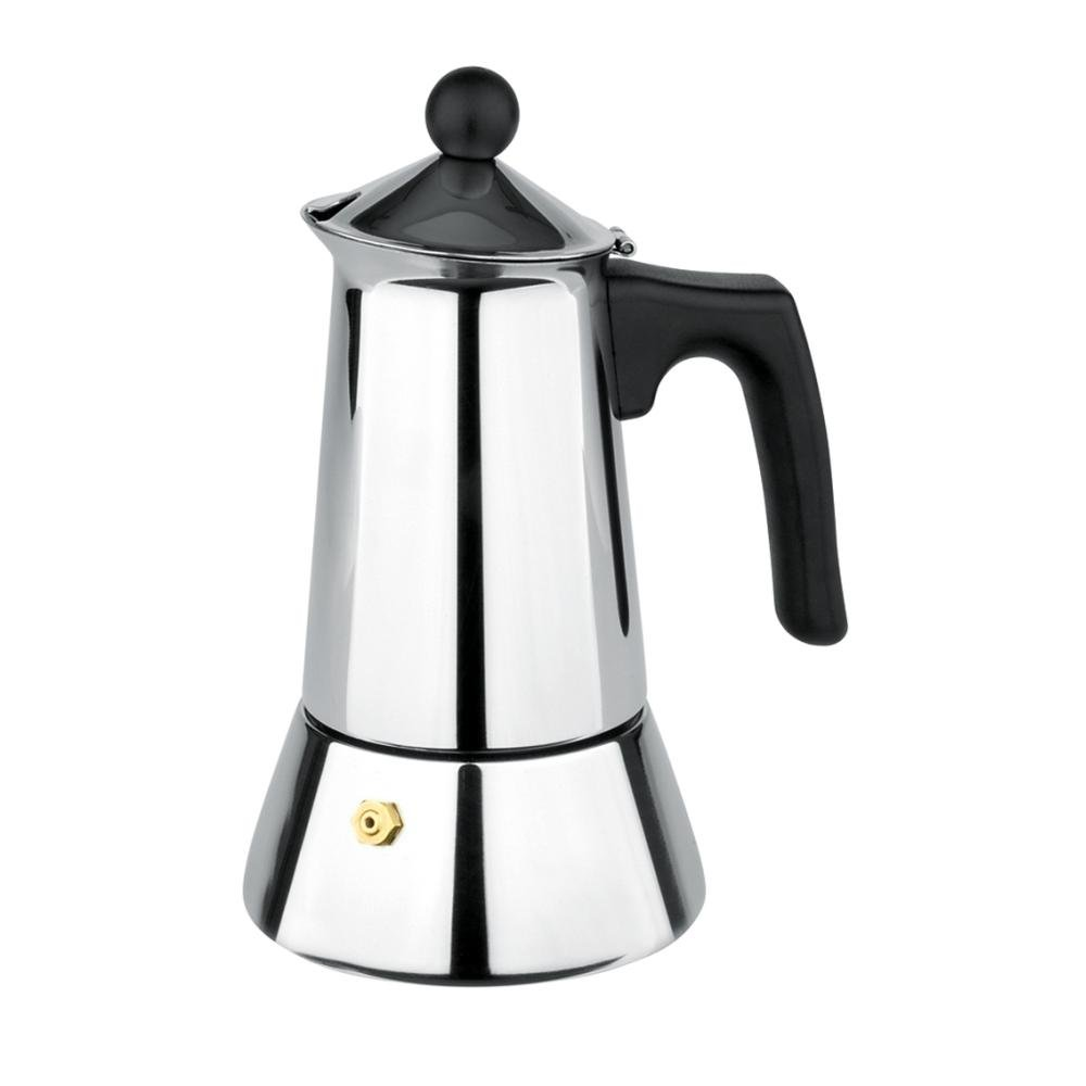 gnali&zani VUL004 Vulcano Coffee Maker 4 Cups, Multi Color gnali&zani_VUL004