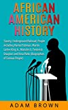 img - for African American History: Slavery, Underground Railroad, People including Harriet Tubman, Martin Luther King Jr., Malcolm X, Frederick Douglass and Rosa Parks (Black History Month Book 1) book / textbook / text book