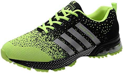 Darringls Zapatillas de Deporte Respirable para Correr Deportes Zapatos Running Hombre Zapatillas Running para Hombre Aire Libre y Deporte Transpirables Zapatos Gimnasio Correr Sneakers Verde 39-47: Amazon.es: Ropa y accesorios