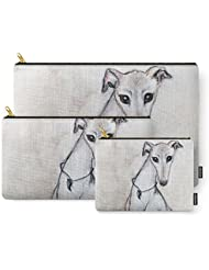 Society6 The Greyhound Wearing His Thorn Carry-All Pouch
