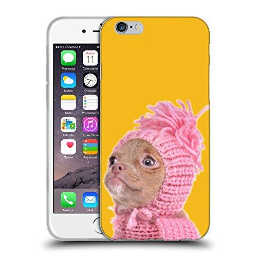 "GoGoMobile Coque de Protection TPU Silicone Case pour // Q05690602 Chihuahua chapeau Ambra // Apple iPhone 6 4.7"""