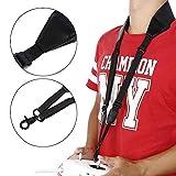 Favrison Black Adjustable Dual Shoulder Neck Strap Lanyard Sling Belt for DJI Phantom 4 3 2 Inspire 1 Drone Transmitter Remote Controller