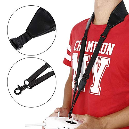Favrison Adjustable DJI Neck Strap Lanyard for Phantom 4 3 2 Inspire 1 Drone Remote Controller