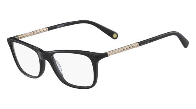 c3f5718c9ad Eyeglasses NINE WEST NW 5144 001 BLACK at Amazon Women s Clothing store