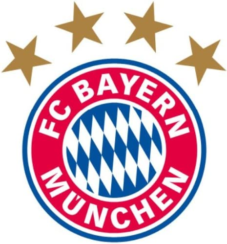 20/x 21/cm Bayern Munich Sticker Mural Logo