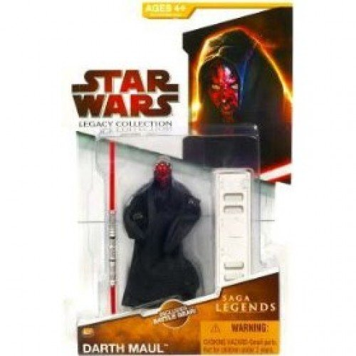 Hasbro Star Wars Legacy Collection 2009 Saga Legends Darth Maul Action Figure SL07