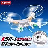 quad copter x5c1 - Lovebay X5C-1 Explorers Syma 2.4Ghz 4CH 6-Axis Gyro RC Quadcopter Drone w/ HD Camera RTF