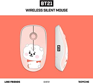 BT21 Baby Wireless Silent Mouse by Royche (RJ)