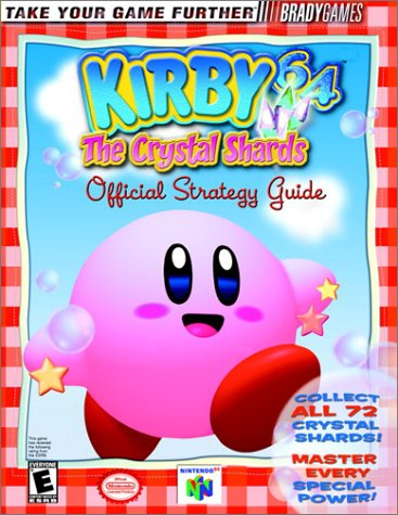 [Book] Kirby 64 The Crystal Shards Official Strategy Guide (Video Game Books) P.P.T