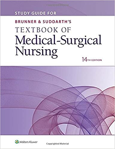 Study guide for brunner suddarths textbook of medical surgical study guide for brunner suddarths textbook of medical surgical nursing fourteenth edition fandeluxe Images
