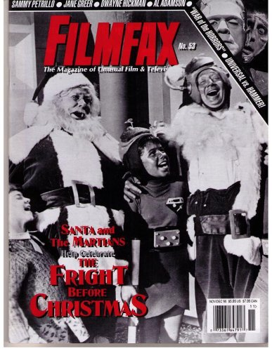 FILMFAX #53 MAGAZINE (Nov/Dec 1995)(