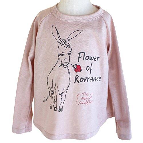 DE NACHOS デナチョス FLOWER OF ROMANCE TEE ピンク M DN-18509