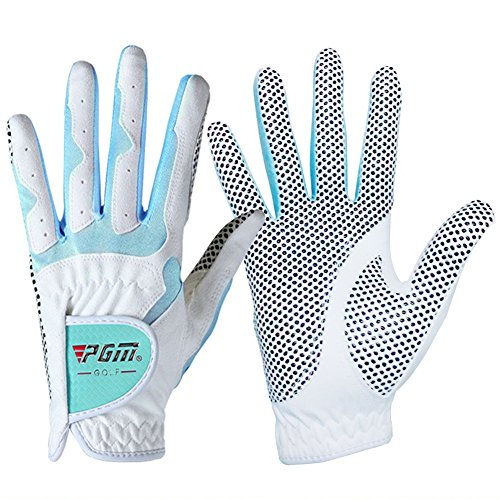 PGM Women's Golf Glove One Pair,Anti-Slip and Breathable,Bionic Gloves