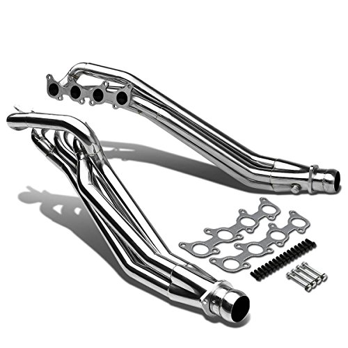 Stainless Steel Long Tube 4-1 Design Exhaust Header Manifold for Ford Mustang 5.0L 11 12 13 14 15 16