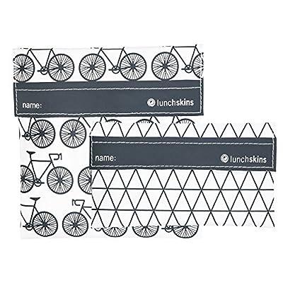 Lunchskins Reusable 2-Pack Velcro Bag Set