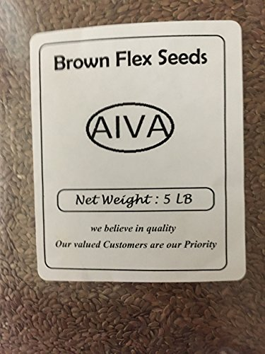 AIVA Flax Seeds 5 Lb by AIVA