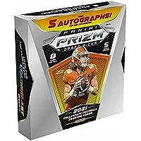 $379 » 2021 Panini Prizm Collegiate Draft Picks Football HOBBY box (5 pks/bx, ONE…
