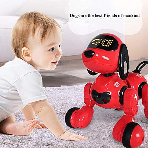 FZTX-LPX Roboterhund, Fernbedienung Dogelectronic Pet Dog Interaktiver Welpe Lernspielzeug Mit LED-Augenkann Singen Und Tanzen Intelligente Programmierung