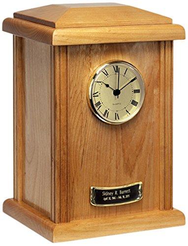Elegante Beautifully Hand-Crafted Hardwood Naturale Tower Urn -