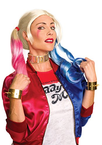 Rubie's Costume Co. Women's Suicide Squad Harley Jewelry Set, As Shown, One Size (Harley Quinn Costume Teen)