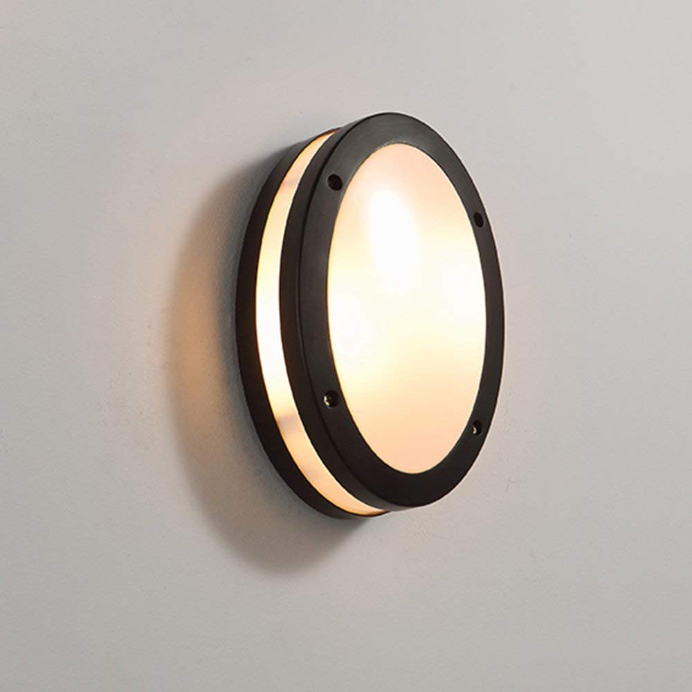 FXING Nordic Einfache Moderne Outdoor Wasserdichte LED-Wandleuchte Gang Terrasse Innenhof Wandleuchte