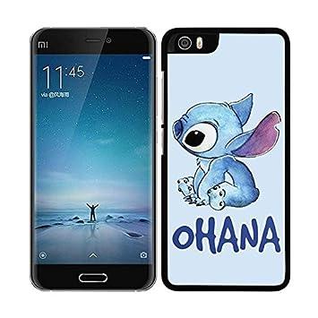 FUNDA CARCASA PARA Xiaomi Mi5 STITCH OHANA BORDE NEGRO: Amazon.es ...