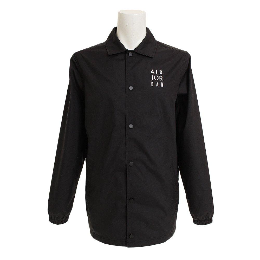b811abbca72798 Amazon.com  Nike Jordan Jumpman Coaches Men s Jacket (Black