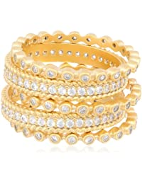 Mixed Stackable Ring Set