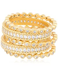 Freida Rothman Mixed Stackable Ring Set