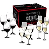 Riedel Ouverture Red and White Magnum Glass and Champagne Flute