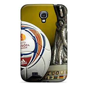 Hot Fashion JdmQKvX5419kFBls Design Case Cover For Galaxy S4 Protective Case (uefa Europa League Trophy)
