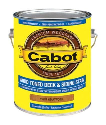 (CABOT SAMUEL 19204-07 INC GAL HeartWD Deck Stain, Heartwood)