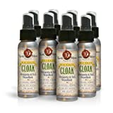 Natural Mosquito, Tick and Insect Repellent, NATURE'S CLOAK 8-Pack (Save $26)