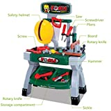 Mefedcy Kids Construction Toy Workbench for