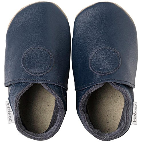 Bobux - Patucos para niño azul - Marine