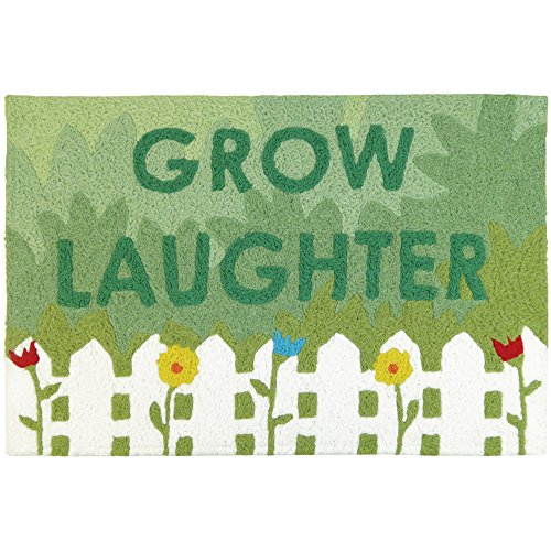 Jellybean Grow Laughter Garden Indoor/Outdoor Machine Washab