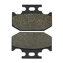 Cyleto Parking Brake Pads for YAMAHA YXR700 Rhino 700 4x4 SE Parking brake 2009 / YXR 700 Rhine Side x Side Parking brake 2011 2012 2013