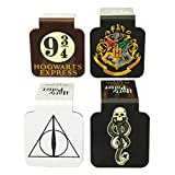 Ata-Boy Harry Potter Assortment #1 Set of 4 1'' Magnetic Page-Top Bookmarks