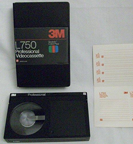 Scotch 3M L750 Professional Videocassette Beta Scotch Color Plus