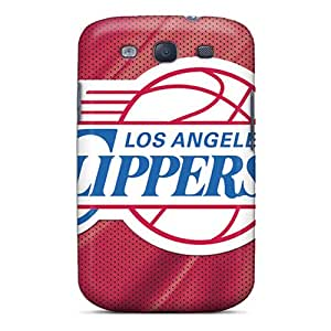 Scratch Protection Cell-phone Hard Covers For Samsung Galaxy S3 (zZh3816SLcv) Support Personal Customs Beautiful Los Angeles Clippers Image