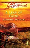 img - for A Leap of Faith (Texas Hearts, Book 3) (Love Inspired #344) book / textbook / text book