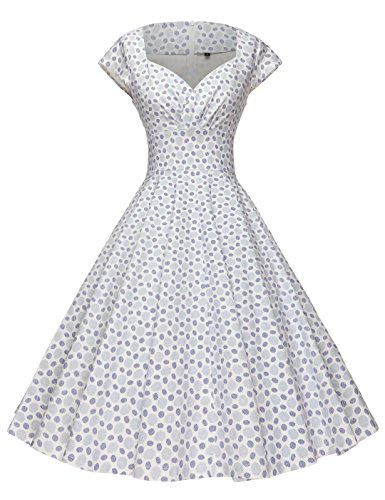 488144c4a3bb GownTown Womens Dresses Party Dresses 1950s Vintage Dresses Swing Stretchy  Dresses - Buy Online in Oman.