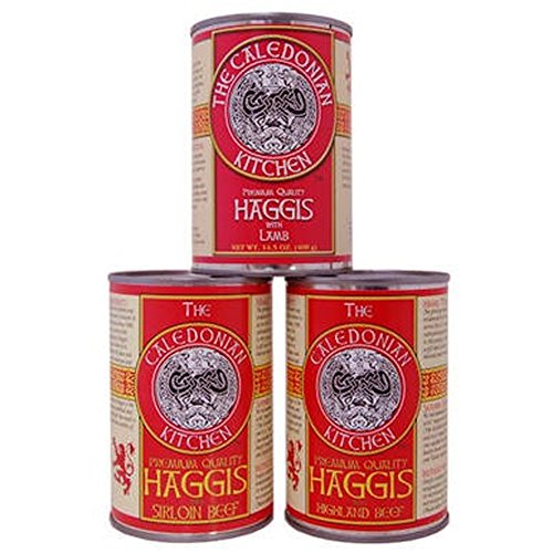 - Scottish Haggis Sampler, Lamb, Highland Beef, Sirloin Beef
