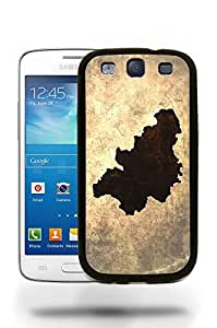 Belgium National Vintage Country Landscape Atlas Map Phone Case Cover Designs for Samsung Galaxy S3 wangjiang maoyi